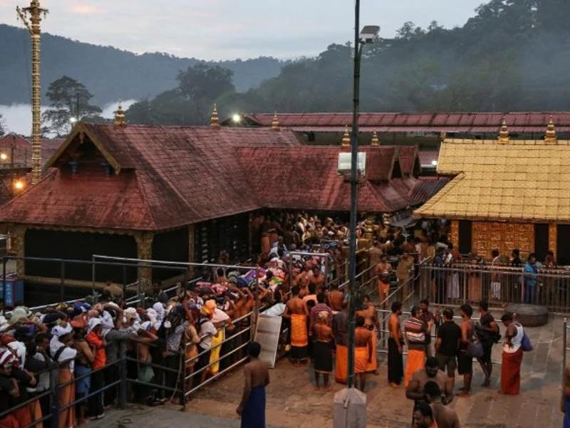 Sabarimala Temple: खुला सबरीमाला मंदिर, आंध्र की 10 महिलाओं को दर्शन से रोका