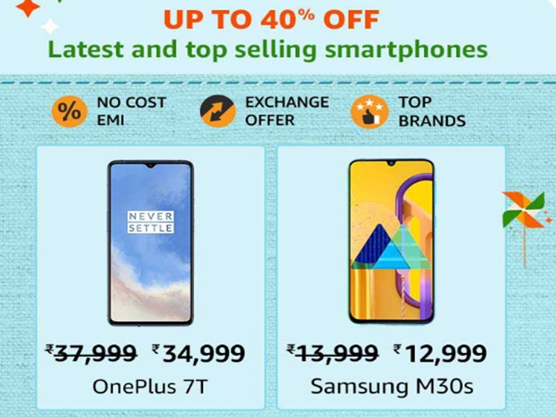 Amazon Great Indian Sale 2020 Best Offers Discount And Exchange
