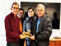 Raipur News: छत्तीसगढ़ में आर्थिक विकास के प्रयोगों पर सीएम और अभिजीत बनर्जी में चर्चा