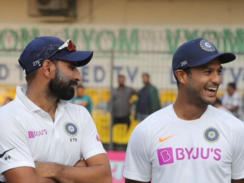 ICC Test Rankings: शमी और मयंक ने हासिल की करियर की सर्वश्रेष्ठ रैंकिंग