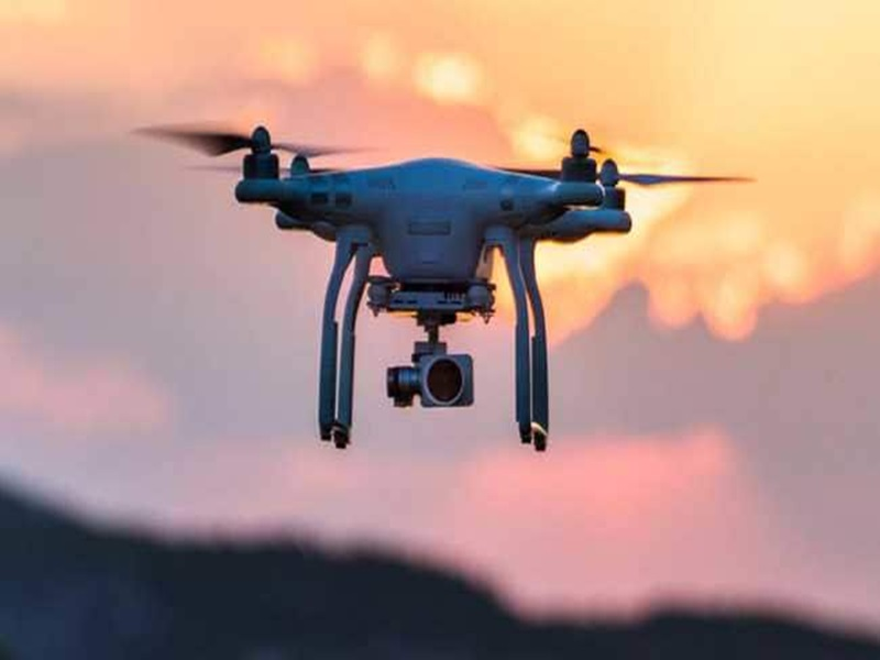 CRPF Camp पर ड्रोन से नजर रख रहे नक्सली, देखते ही गोली मारने के आदेश