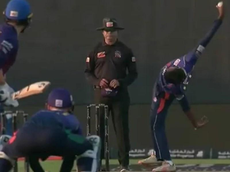 VIDEO: इस गेंदबाज का अजीब एक्शन देख चौंक जाएंगे आप, वीडियो मचा रहा धूम