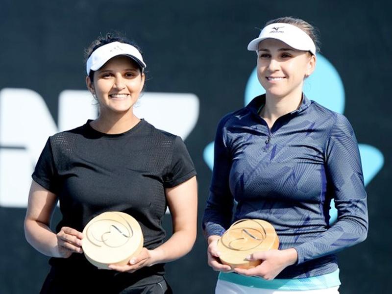 Sania Mirza की जबर्दस्त वापसी, मां बनने के बाद जीता पहला खिताब