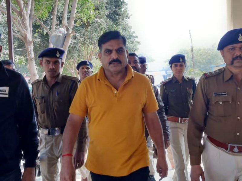 सेंधवा का हिस्ट्री शीटर संजय यादव गिरफ्तार, न्यायालय में किया पेश