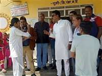 मंत्री तुलसी सिलावट ने पूछा- स्वास्थ्य मंत्री को जानती हो, एएनएम बोलीं- नाम सुना है