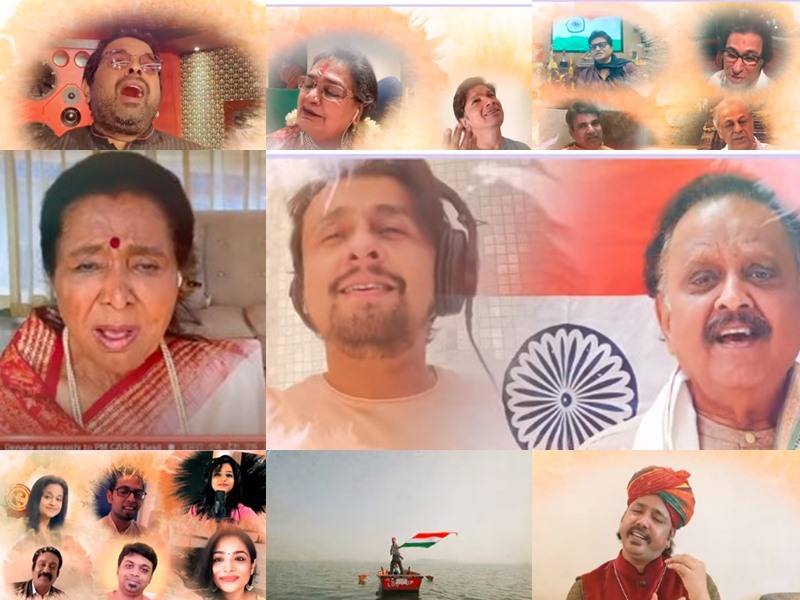 देश के 211 सिंगर्स ने गाया 'जयतु जयतु भारतम्', पीएम ने कहा 'आत्मनिर्भर भारत के लिए सुरों से सजा उद्घोष'