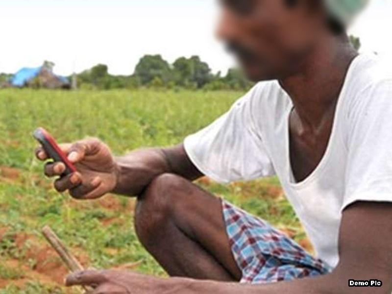 मध्य प्रदेश में 12 लाख 65 हजार किसानों के मोबाइल पर पहुंचा रहे खेती से मौसम तक का अपडेट