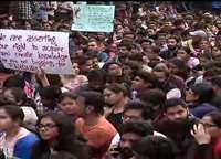 JNU Student Protest: जेएनयू के विद्यार्थियों का हंगामा, हॉस्टल फीस वृद्धि पूरी तरह वापस लेने की मांग