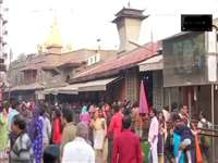 Sai Baba: जन्मस्थान विवाद को लेकर शिर्डी रहा बंद, मंदिर में लगा रहा श्रद्धालुओं का जमघट