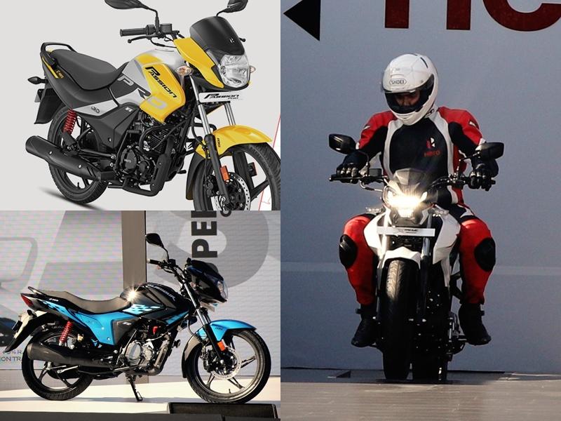 Hero ने BS6 इंजन के साथ लॉन्च की नई Passion Pro, Glamour और Xstream, जानें डिटेल्स