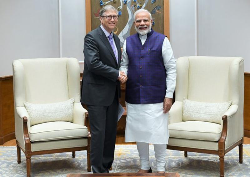 Bill Gates Meets PM Modi : प्रधानमंत्री मोदी से मिले बिल गेट्स, PM ने ट्वीट करके यह कहा
