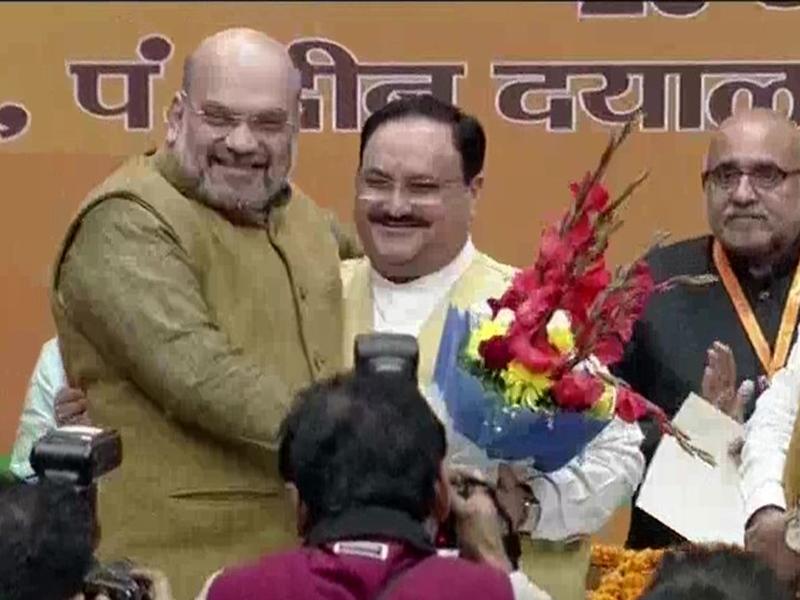 JP Nadda बने भाजपा के नए राष्ट्रीय अध्यक्ष, Amit Shah और PM Modi ने दी बधाई