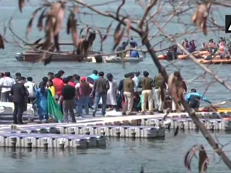 Bhopal IPS Meet : आईपीएस मीट में बड़ा हादसा टला, 8 अधिकारियों से भरी नाव पलटी, सभी सुरक्षित