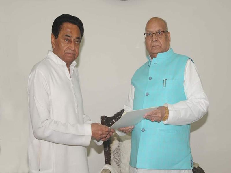 MP News : राज्यपाल को कमल नाथ ने सौंपा इस्तीफा, रहेंगे कार्यवाहक मुख्यमंत्री
