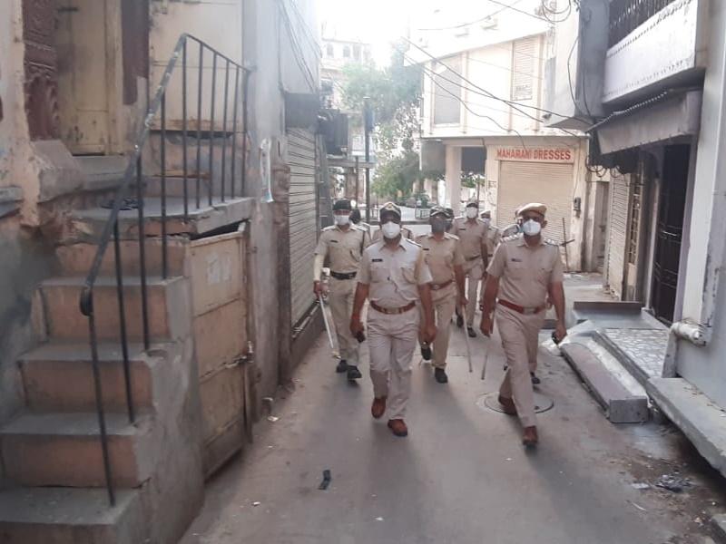 Corona Hotspot in Rajasthan : लॉकडाउन के नियम तोड़ने वालों के खिलाफ प्रशासन का रवैया सख्त
