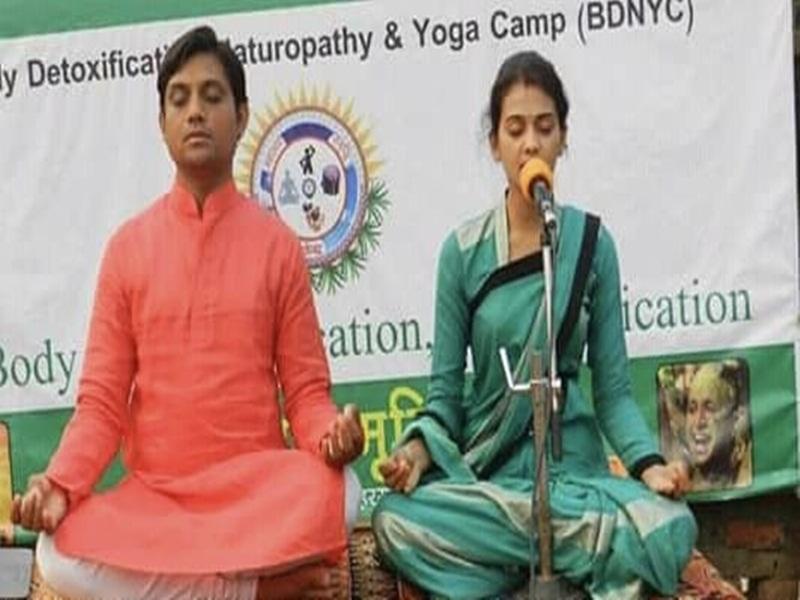 World Yoga Day 2020 : बड़ा सैलरी पैकेज छोड़ आश्रम में सेवा दे रहा ये दंपति