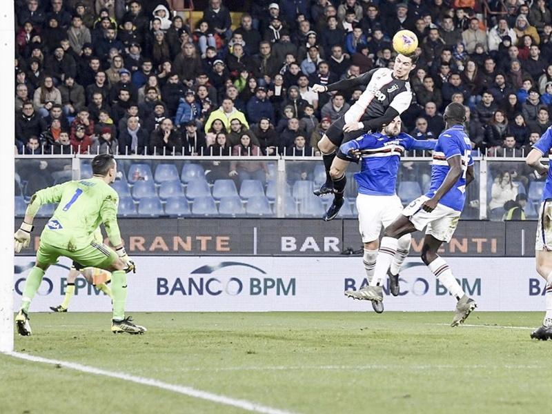 Cristiano Ronaldo amazing goal: रोनाल्ड ने 2.56 मीटर ऊंची जम्प लगाते हुए दागा हैरतअंगेज गोल, देखिए Video
