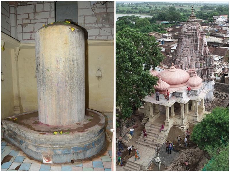 Maha Shivaratri 2020 : महेश्वर जिले के गौरी सोमनाथ मंदिर में आठ फीट ऊंचा शिवलिंग, राज्य संरक्षित स्मारक का दर्जा