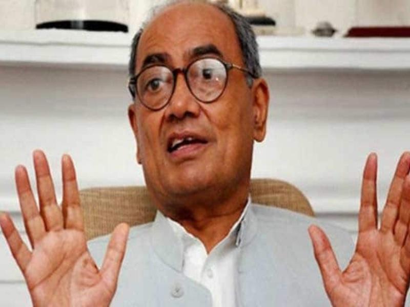 MP Congress : मध्य प्रदेश में सरकार जाते ही दिग्विजय सिंह का विरोध तेज