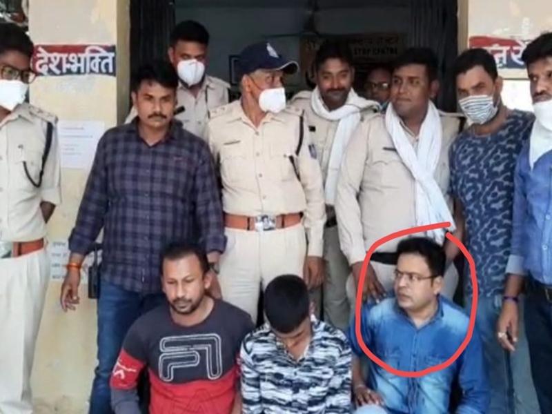 Ujjain News : नाबालिग नौकरानी से दुष्कर्म के आरोप में आबकारी एसआइ गिरफ्तार