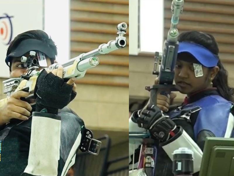 ISSF World Cup Finals: मनु, इलावेनिल और दिव्यांश ने जीते स्वर्ण पदक
