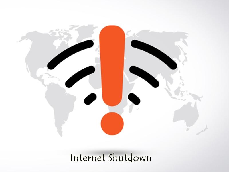 इंटरनेट बंद करने के मामले में दुनिया में सबसे आगे है भारत, इतनी बार किया बंद