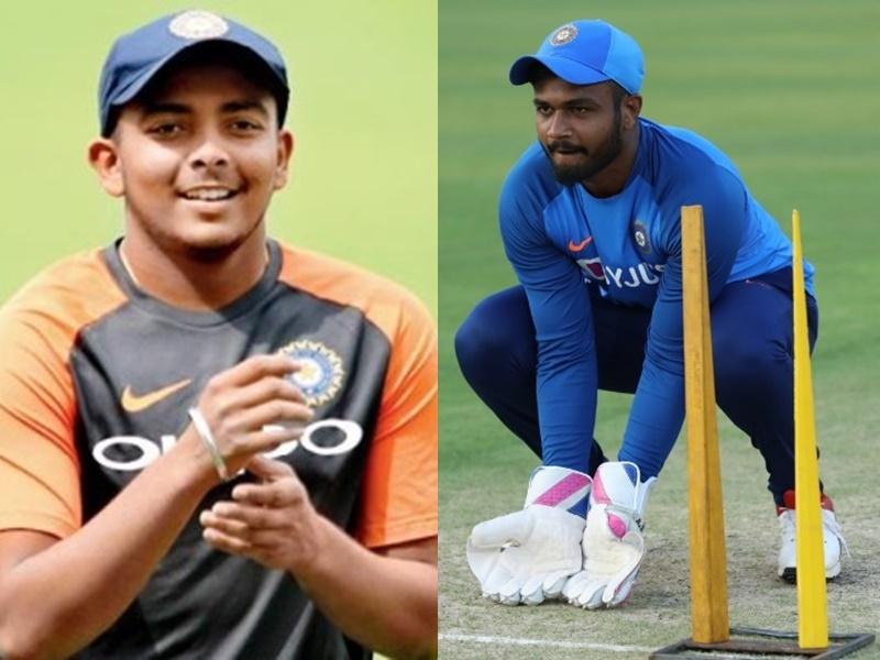 India vs New Zealand: Prithvi Shaw वनडे टीम में शामिल, शिखर धवन की जगह Sanju Samson टी20 टीम में