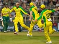 Ashton Agar की हैट्रिक से दक्षिण अफ्रीका की पहले टी20 मैच में रिकॉर्ड हार