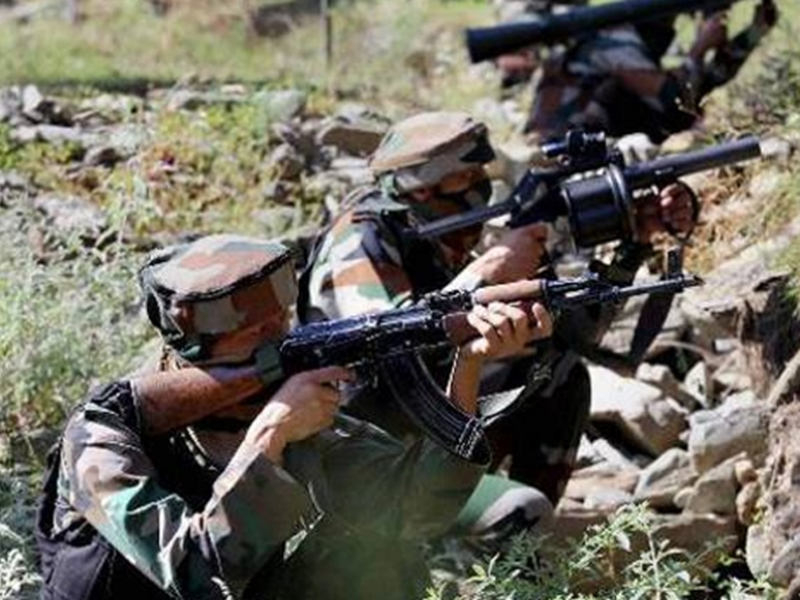 Pakistan को भारतीय सेना का करारा जवाब, 5 पाक सैनिक और दो आतंकी किए ढेर
