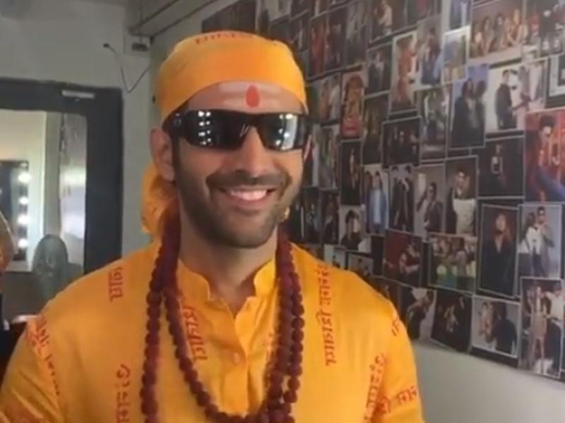 जयपुर में Kartik Aaryan ने शुरू की Bhool Bhulaiyaa 2 की शूटिंग वीडियो शेयर कर कहा - इस लुक में स्माइल ही नहीं रुकती