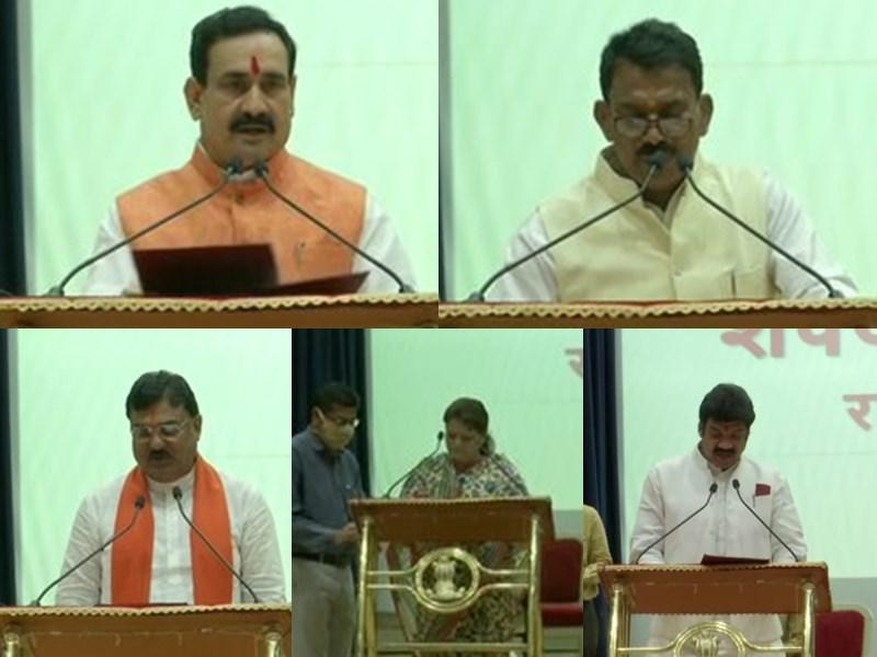मध्य प्रदेश में 5 मंत्रियों को विभागों का बंटवारा, किसे क्या मिला जानिए यहां