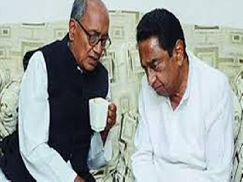 Madhya Pradesh by elections : विधानसभा उपचुनाव के पहले कमल नाथ-दिग्विजय खेमे में बंटी कांग्रेस