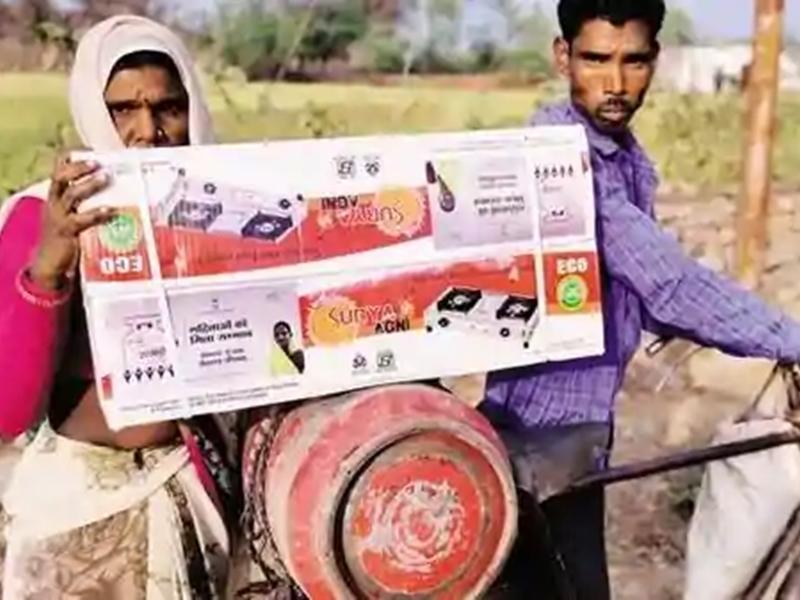 Pradhan Mantri Ujjwala Yojana के तहत बाटे गए 6.8 करोड़ Free LPG सिलेंडर