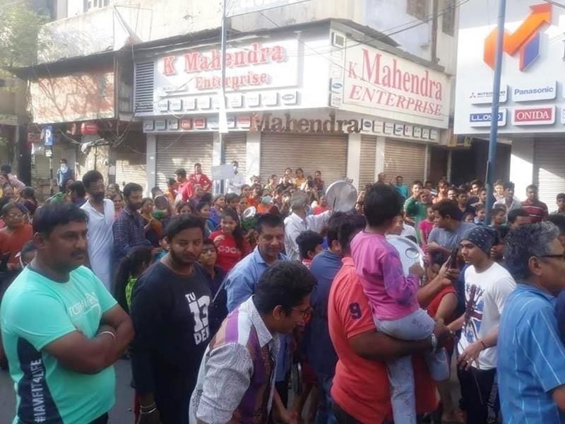 जनता कर्फ्यू : संडे की शाम को ताली, थाली बजाते हुए उत्साह में जुलूस निकालने वाले 19 गिरफ्तार