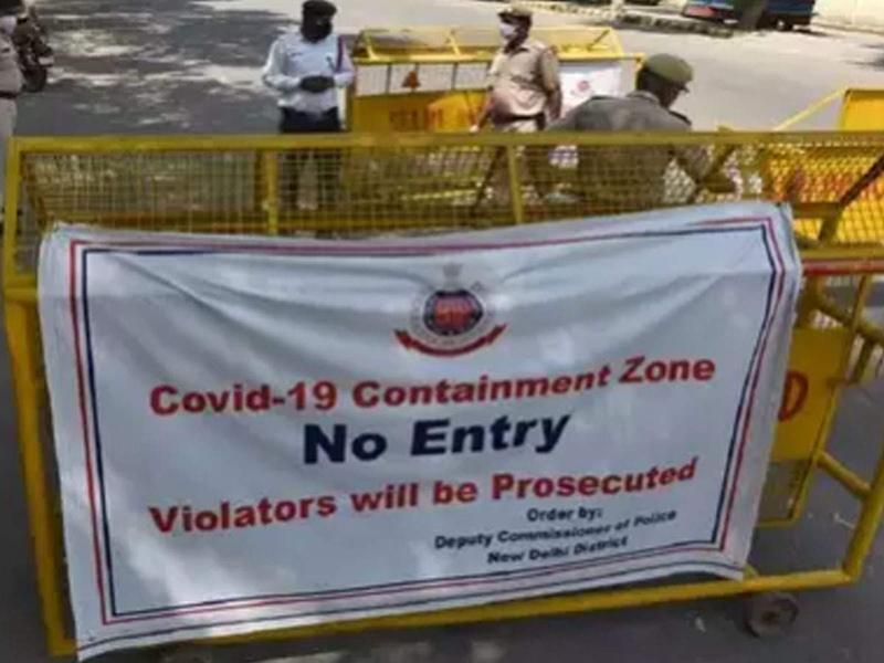 Delhi Containment Zones: दिल्ली में Containment Zone की संख्या 86 हुई, 9 नए इलाके किए गए सील