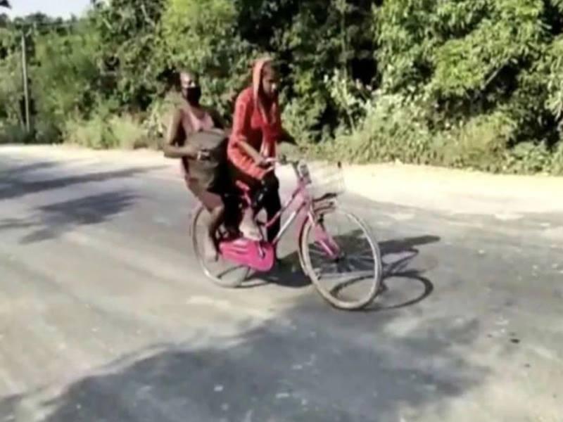 1200 किलोमीटर का सफर साइकल से तय करने वाली ज्योति के हौसले की इवांका ट्रंप ने की सराहना