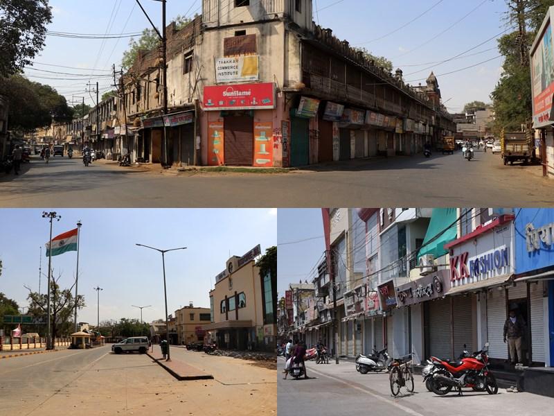 Indore lockdown : इंदौर में भी लॉकडाउन, बाजार और ऑफिस सब 25 मार्च तक के लिए बंद