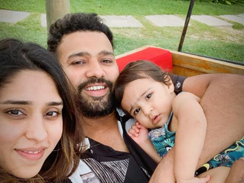 Rohit Sharma बेटी Samaira के साथ खेल रहे क्रिकेट, वायरल हुआ Video