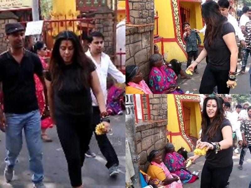 मंदिर के बाहर भिखारियों को केला फेंककर देती दिखीं Ekta Kapoor वायरल वीडियो से सोशल मीडिया पर हुई ट्रोल
