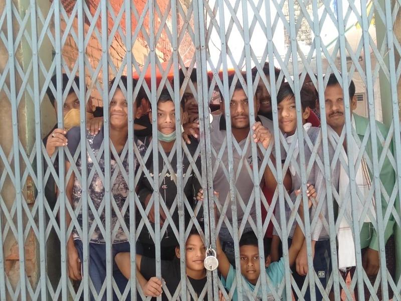 Coronavirus in Madhya Pradesh : गोहद में घर के मुखिया ने 65 सदस्यों को किया लॉक डाउन