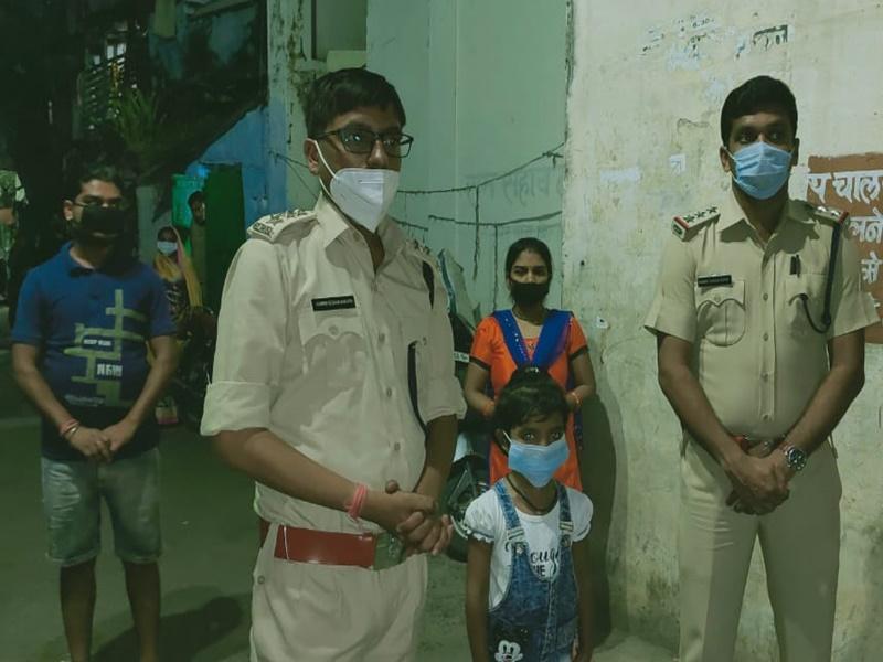 Bilaspur Lockdown Update : जन्मदिन पर मासूम बच्ची को पुलिस से मिला ऐसा उपहार, जिंदगीभर रहेगा याद