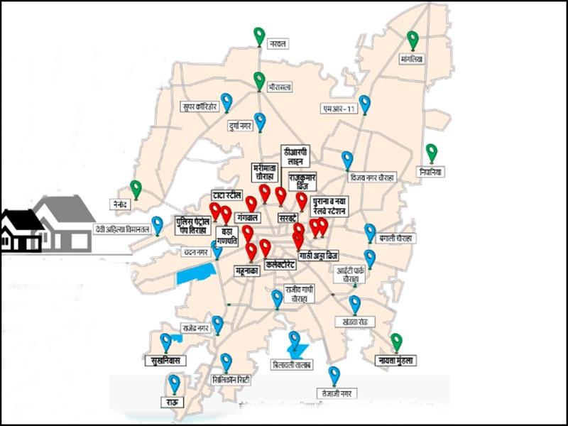 Lockdown in Indore : इंदौर शहर को तीन जोन में बांटकर लॉकडाउन खोलने की तैयारी