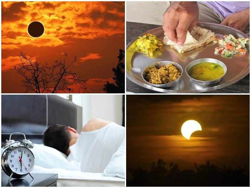 Surya Grahan 2019: जानिए सूर्य ग्रहण के दौरान खाना या सोना क्यों है वर्जित