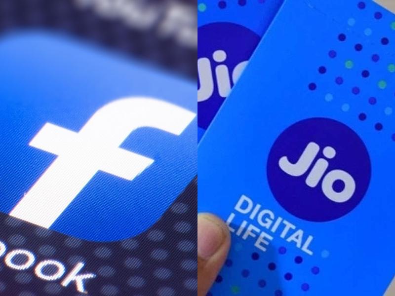 Reliance Jio में 10% हिस्सेदारी खरीद सकती है Facebook