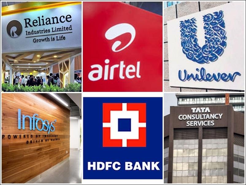 देश के इन 10 बड़ी कंपनियों के लिए कैसा रहा सप्ताह, जानिये Reliance, HDFC, Bharti Airtel, Infosys, Kotak Mahindra, TCS, HUL की पोजीशन
