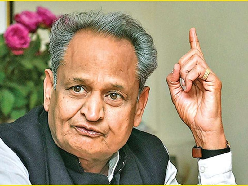Rajasthan : अशोक गहलोत के लिए कठिन दिख रहा है इस बार का सियासी संकट