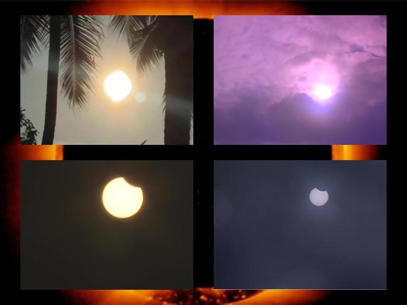 Surya Grahan 2019 : देखिए सूर्य ग्रहण की शानदार तस्वीरें, दुबई में 'रिंग ऑफ फायर' का नजारा