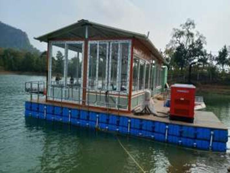 Korba News: झील में कैबिनेट बैठक के लिए तैयार हुआ फ्लोटिंग हॉल, ऐसी होगी सुरक्षा व्यवस्था