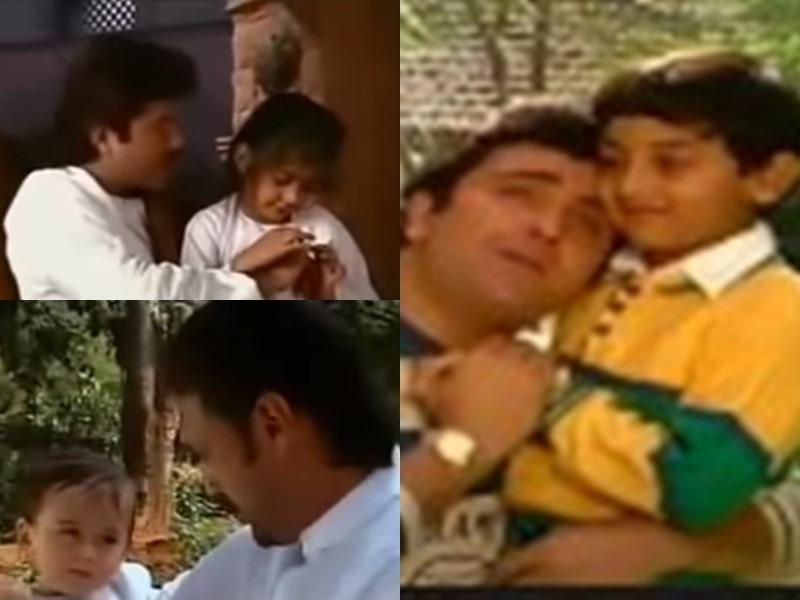 1993 के इस म्यूजिक वीडियो में Ranbir Kapoor, Sonam Kapoor और Tiger Shroff दिखे थे अपने पापा के साथ