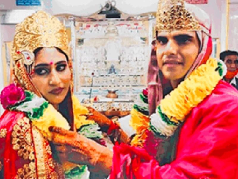 Chakravati Marriage : भोपाल में पहली बार हुआ चक्रवती विवाह, जैन मंदिर में लिए फेरे
